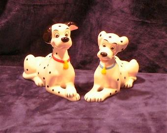 101 Dalmatians Porcelain Walt Disney Figurines Pongo Perdita