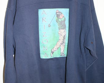 90's ARIZONA Golf Sweatshirt XXL