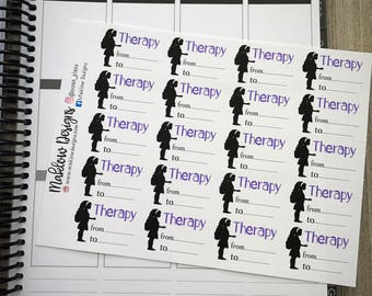 Therapy Stickers