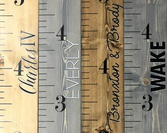 growth chart ruler growth chart wood sign kids measuring stick