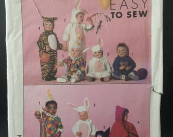 Children's Costume Pattern 9331 Simplicity Easy to Sew