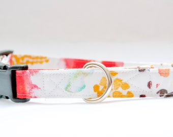 Watercolor Floral Easter Dog Collar ON SALE -  Spring dog collar - Mothers Day Gift -Dog Collar for boys - Dog Collar Girl - new dog gift