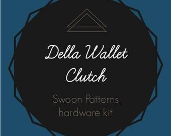 Della Wallet Clutch - Swoon Hardware Kit