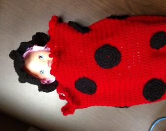 Crochet Cozy LadyBug