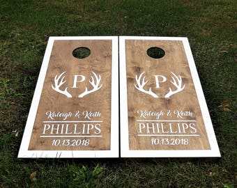 cornhole boards etsy - Cornhole Design Ideas