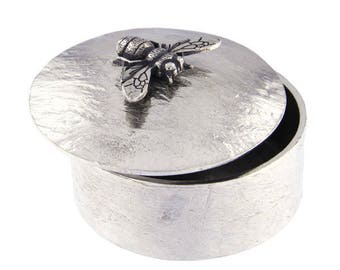 Bee Trinket box -Hand Made and Design in UK