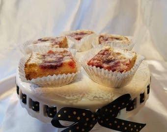 Gluten-Free Raspberry Lemon Bars, Gluten-Free Goodies, Reduced Calories Lemon Bars, Mrs. C's Lemon Bars, Magical Lemon Bars, Taste of Heaven