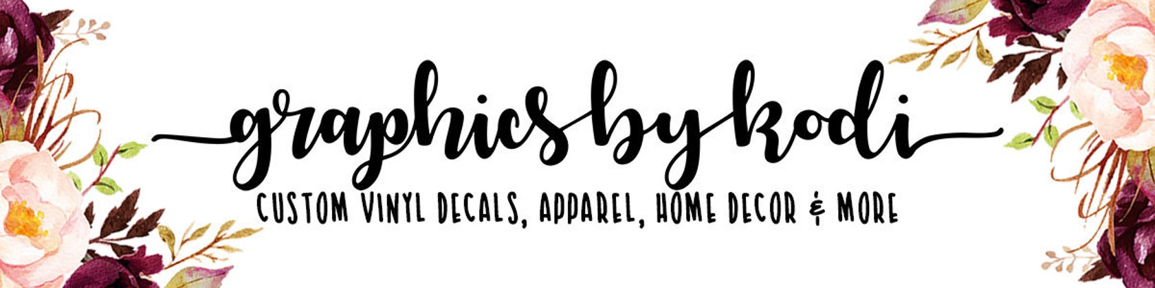 CUSTOM VINYL DECALS APPAREL HOME DECOR MORE By Graphicsbykodi - Custom vinyl decals las vegas