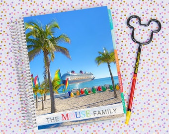 Disney World Erin Condren Life Planner Cover CUSTOMIZED DIGITAL DOWNLOAD - Disney Cruise 1