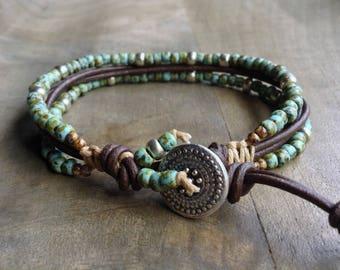 Bohemian bracelet boho chic bracelet gypsy womens jewelry boho bracelet gift for her western bracelet bohemian bracelet boho chic jewelry