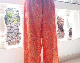 Luxury Silk Trousers