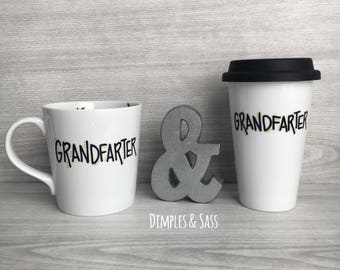 Grandfarter Mug | Gift for Grandpa | Gift for Grandfather | Fart Joke Mug | Grandpa Mug | Fart Joke Mug