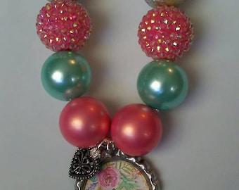 BELIEVE  Spiritual necklace 22'' ladies,,birthday, handcrafted,