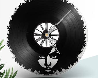Wall clock vinyl FUNK SOUL Women