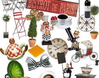 Restaurant clipart | Etsy | {Französische küche clipart 18}