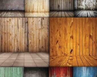 40% OFF SALE Wood Backdrop , Rustic wood backdrop , Indoor photoshoot , Wood background , Digital Backdrop , Newborn backdrop Buy 2 Get 1 FR