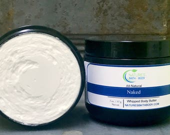 All-Natural Naked Whipped Body Butter