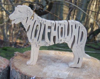 Irish Wolfhound,  Irish Wolfhound gift, Irish Wolfhound ornament, gift for Irish Wolfhound lover, Wolfhound memorial, dog breed gift