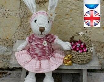 Ernestine, la lapine, tutoriel français, anglais et néerlandais
