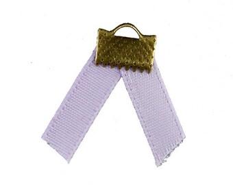 x2m clear 5mm (57 (A) purple satin ribbon