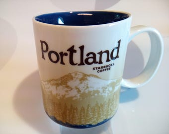 Starbucks Portland Collector Series 16 oz Coffee Mug