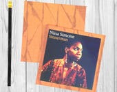 Writing journal, notebook, bullet journal, diary, sketchbook, blank - Nina Simone