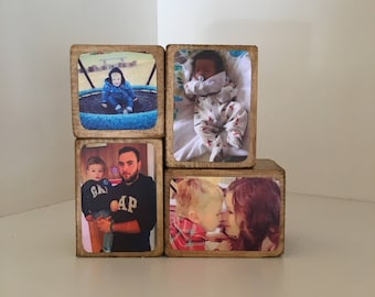EXTRA BLOCK  for Photo Stacking Blocks / Photo Gift / Photo Blocks / Wooden Photo Block / Keepsake / Gift / Photo / Block