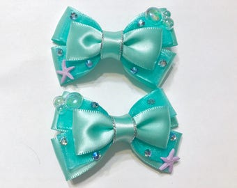 Mini Mermaid bows