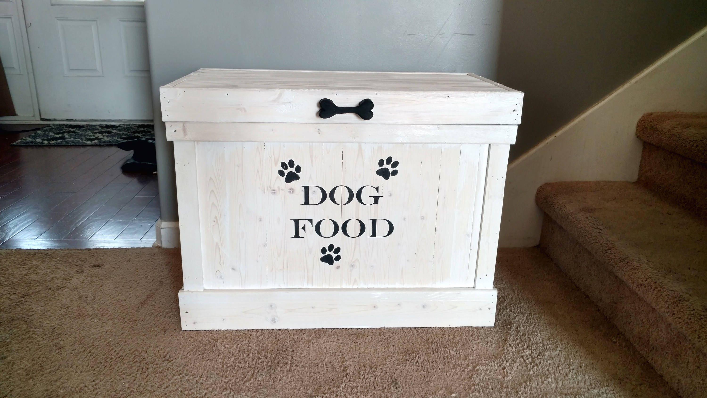 dog food storage container pet food storage rectangle dog. Black Bedroom Furniture Sets. Home Design Ideas