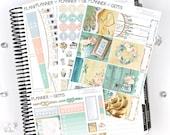 Beach House Essential Weekly Planner Kit | 150+ Stickers | Planner Stickers | For Erin Condren LifePlanner