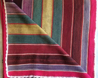 Vintage Blanket/ Rug from Bolivia