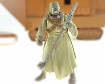Tusken Raider Star Wars Action Figure Complete POTF2 1996