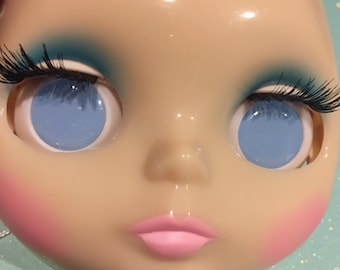 Pastel Blue Soft Resin Eye Chips For Blythe (14 mm)