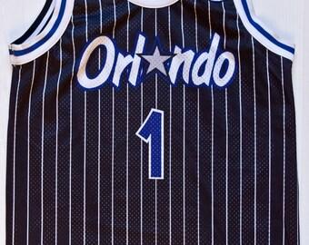 Penny Hardaway Orlando Magic NBA Champion basketball jersey double-face rare vintage