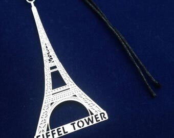 Landmark Travel - Metal Bookmark - Big Ben / Tower of Pisa / Eiffel Tower