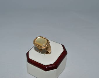 Men's Gold Plated Ring Size 9