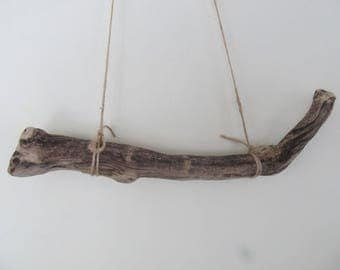 Bicolor Supersturdy Drift Wood Dowel 11.5 Inch Driftwood Branch DIY Woven Wall Hanging Weaving Macrame
