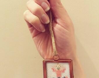 Mini floral frame