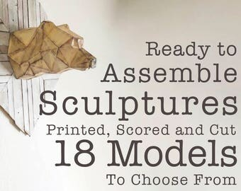 Ready To Assemble Sculptures
