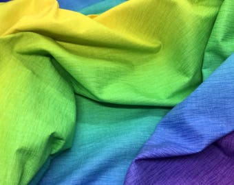 Ombre Rainbow Gelato Fabric from the Elite Collection for Maywood Studios - Listed by the Half Yard