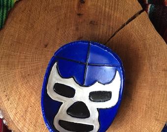Lucha Libre ring dish Blue Demon