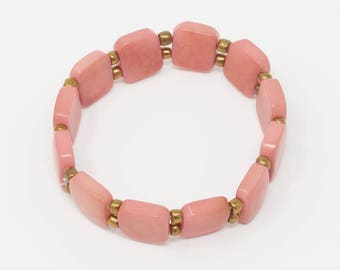 Tawak'uchu - Tagua Tile Bracelet