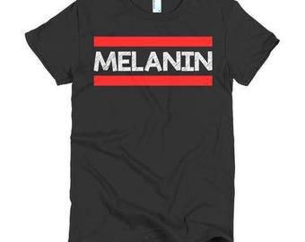 Melanin Tshirt - Kids Melanin Shirt - Women of Color Shirt - Men of color shirt - Shirts for black women - Shirts for black kids