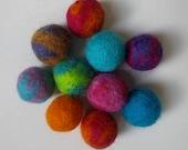 Cat Balls - Custom Wet Felted Wool Balls