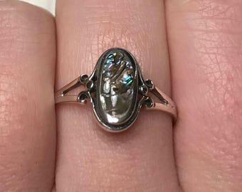 Big Abalone Ring