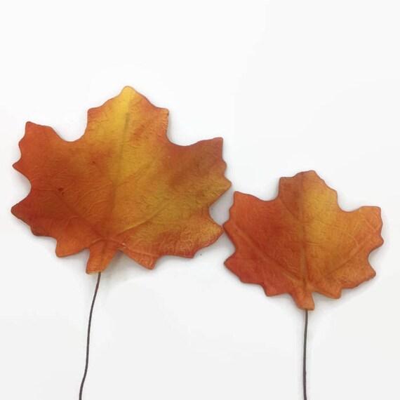Maple Leaves, set of 10