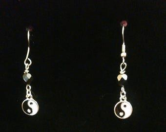 Yin and Yang earrings
