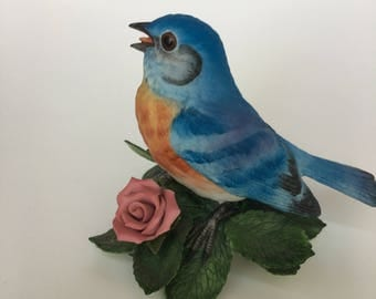 Lenox  Eastern Bluebird  Fine Porcelain  Excellent condition