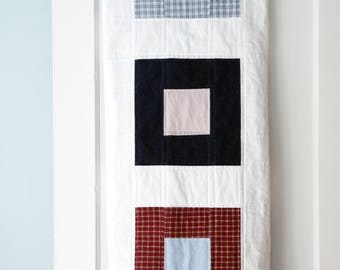 Two Square Memory Quilt | Modern Memory Quilts