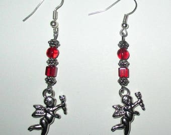 Earrings with little cherubs ღ ღ / unique Pieces!